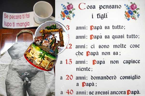 Anche Carmela aveva i cassetti pieni, da ogni gita le figlie le portavano o una palla o una ceramica